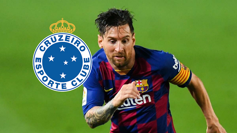 Cruzeiro 'announce' move for Barcelona star Messi after website hack