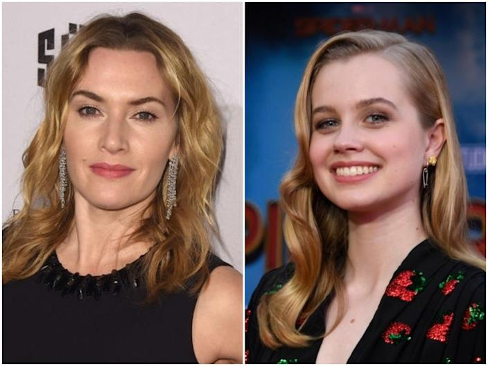 Actors Kate Winslet and Angourie Rice (C Flanigan/Frazer Harrison/Getty Images)