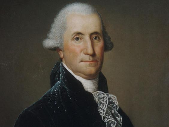 Portrait of George Washington painted by Swedish immigrant Adolph Ulrich Wertmuller in the 1790s (Adolph Ulrich Wertmuller/Metropolitan Museum of Art )