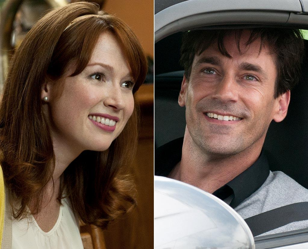 """<a href=""""http://movies.yahoo.com/movie/contributor/1808974842"""">Jon Hamm</a>, who has a cameo in """"Bridesmaids,"""" playing Annie's esteem-killing lover at the beginning of the movie -- worked for a spell as a junior high school drama teacher in the early '90s. One of his students was fellow """"Bridesmaids"""" co-star <a href=""""http://movies.yahoo.com/movie/contributor/1810156018"""">Ellie Kemper</a>."""