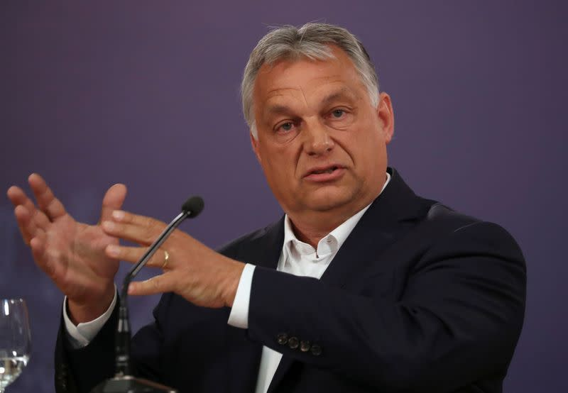 Hungary ready to take steps in case second wave of coronavirus comes - PM Orban