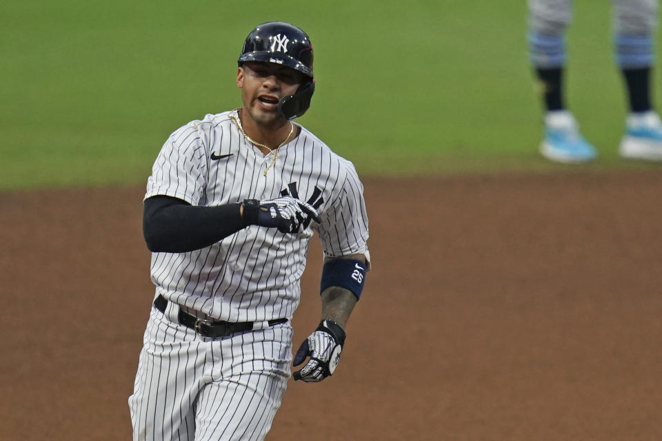 New York Yankees' Gleyber Torres