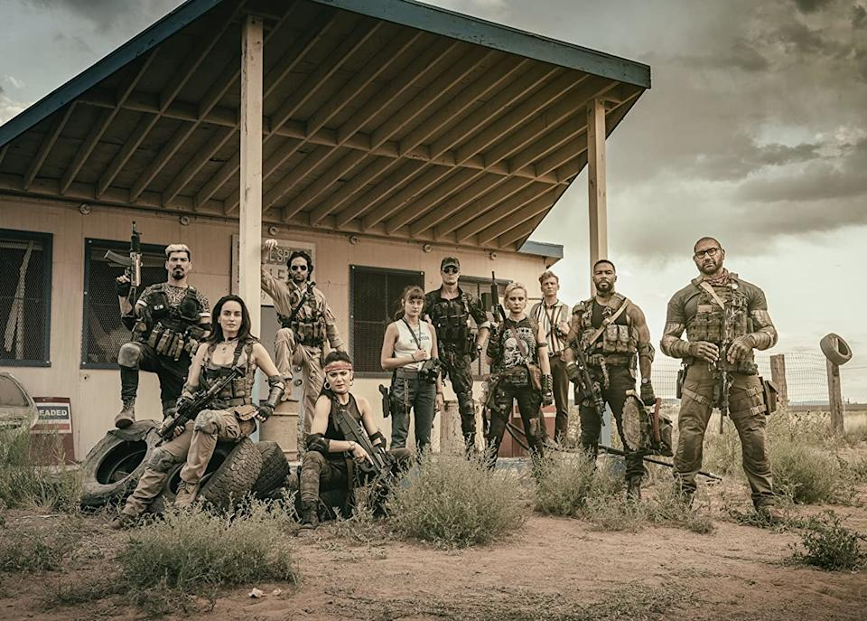 Zack Snyder's Army Of The Dead cast (Credit: Netflix)