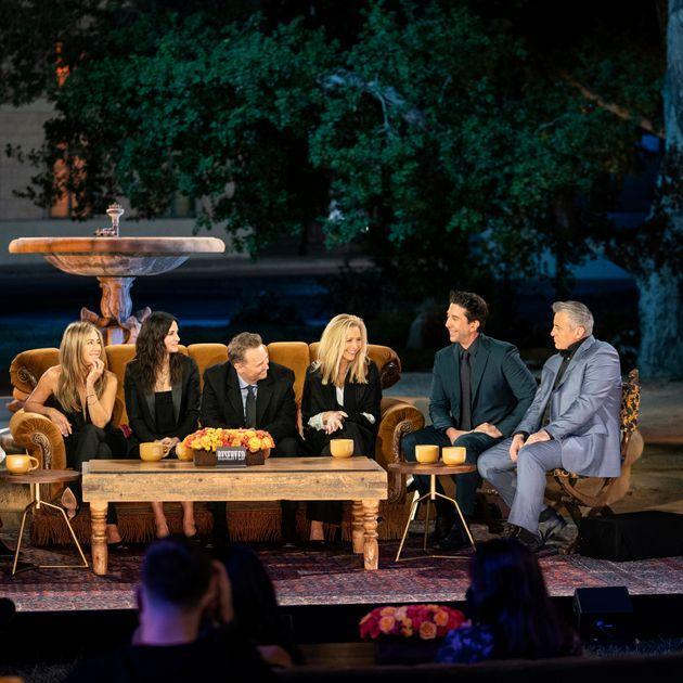 The cast of Friends during the reunion (Photo: Terence Patrick/HBO)