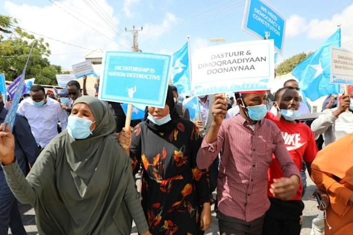 Somalia was to have held a presidential election in February