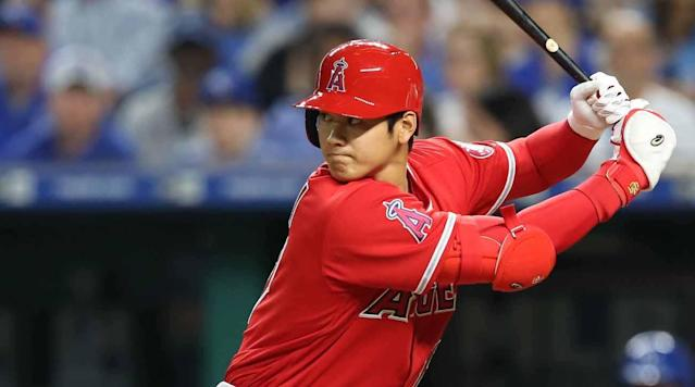 After reporters asked him about participating in July's Home Run Derby, Los Angeles Angels phenom Shohei Ohtani downplayed his ability Sunday.