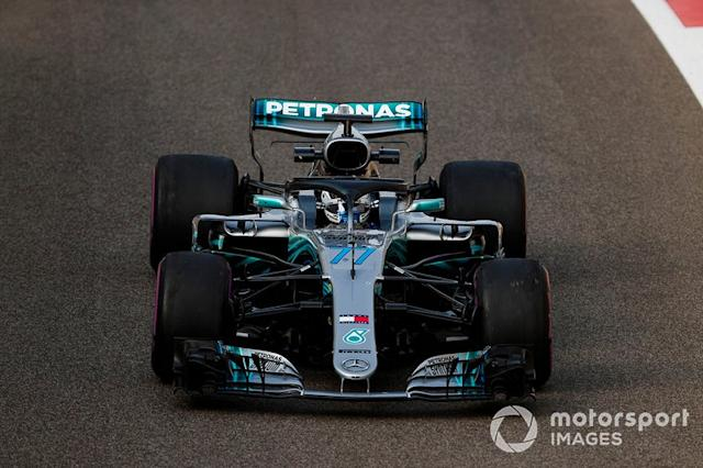 """Mercedes AMG F1 W09 (2018) <span class=""""copyright"""">Zak Mauger / Motorsport Images</span>"""