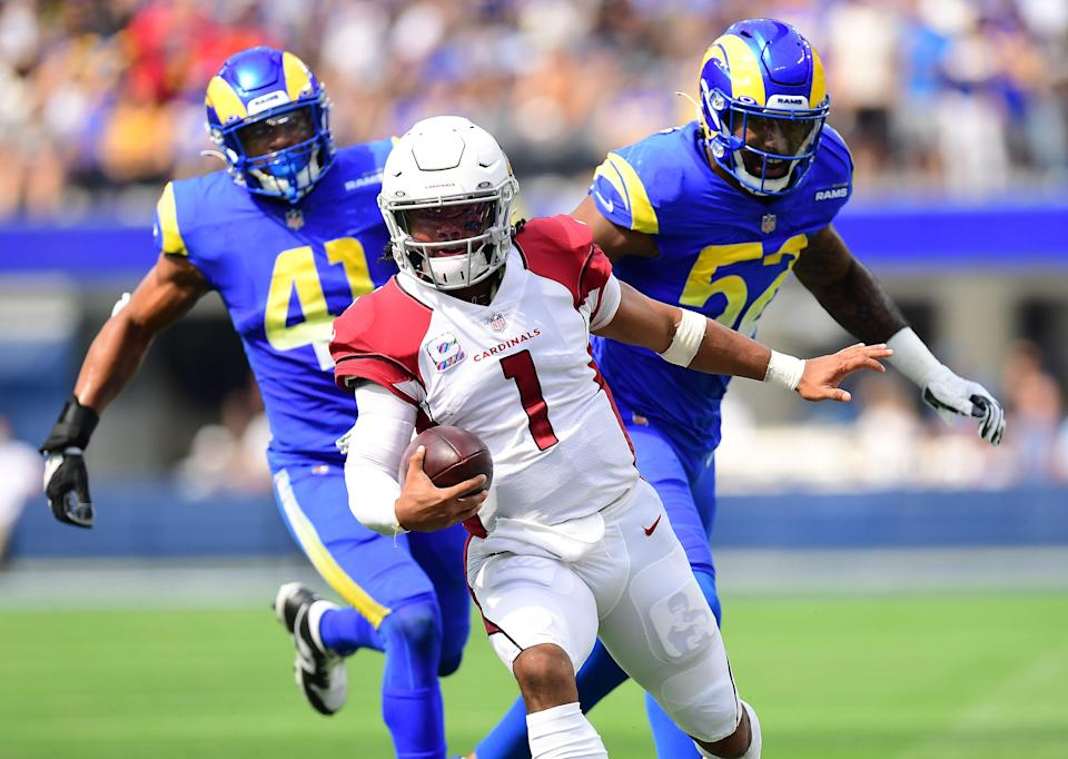 Kyler Murray helped the Cardinals move to 4-0 with Sunday's big win over the Rams.