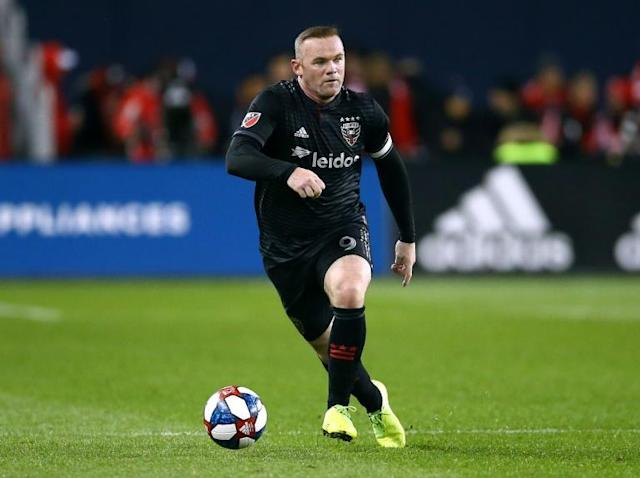 DC United captain Wayne Rooney sparked his club in the first round of the Major League Soccer playoffs ahead of his return to England's Derby County after the team's post-season run (AFP Photo/Vaughn Ridley)