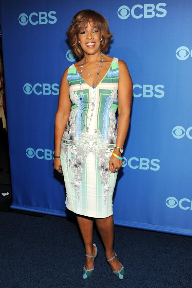 NEW YORK, NY - MAY 15:  Gayle King attends CBS 2013 Upfront Presentation at The Tent at Lincoln Center on May 15, 2013 in New York City.  (Photo by Ben Gabbe/Getty Images)