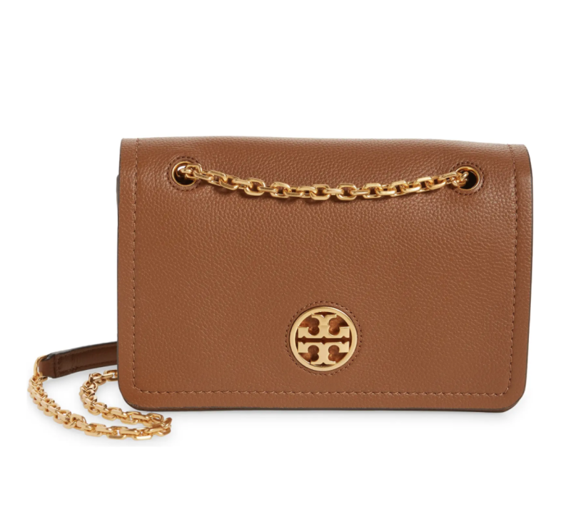Tory Burch Carson Convertible Leather Crossbody Bag. Image via Nordstrom.