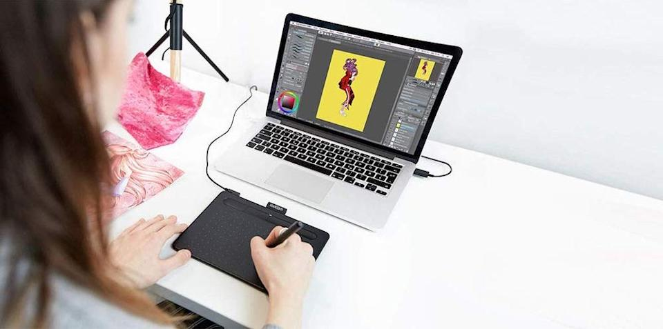Wacom Intuos Graphics Drawing Tablet - $79