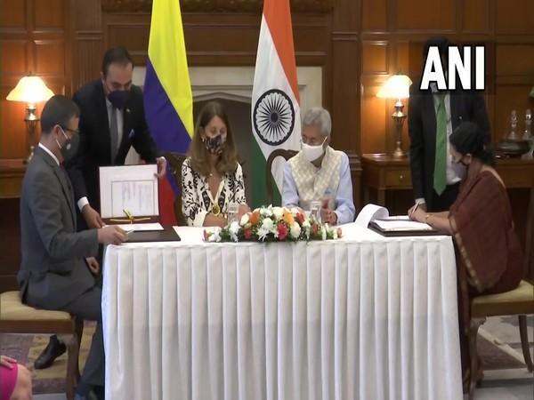 Jaishankar, Colombian counterpart witness signing of agreements