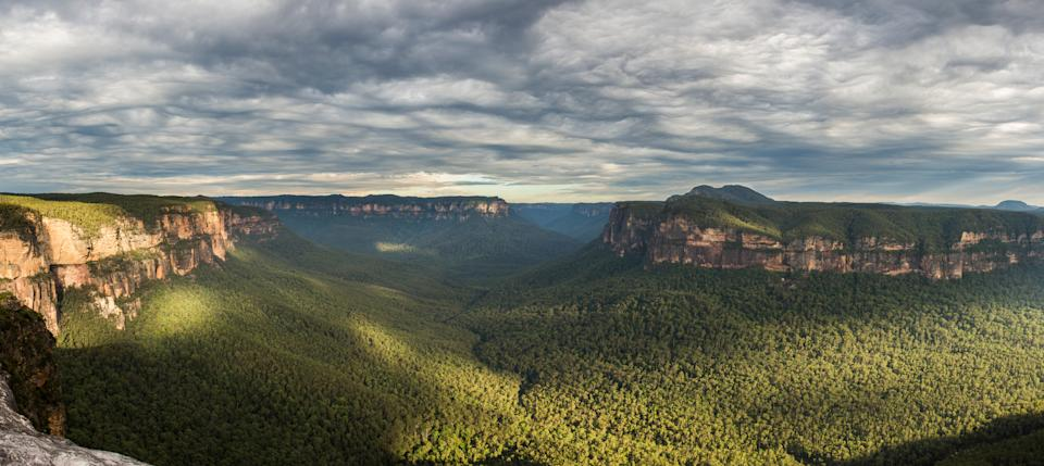 Parts of the Blue Mountains national park would be flooded under a NSW government plan to expand Warragamba Dam. Source: Getty