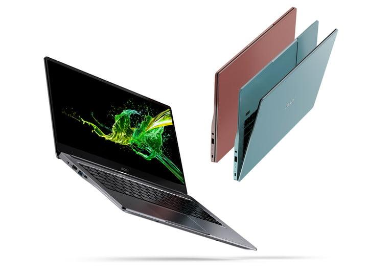 Acer's Swift 5, Swift 3 get powerful with Intel's 10th-gen