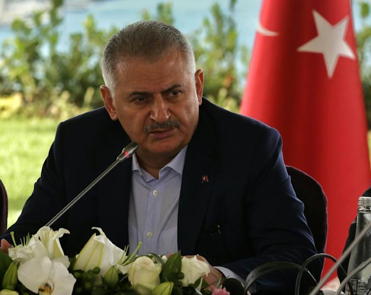 "Prime Minister Binali Yildirim told a news conference that ""No terrorist organisation can hold Turkey captive"""