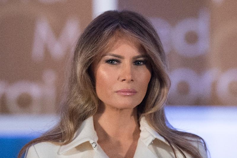 The New York Police Department says it has spent more than $24 million to protect Melania Trump and her family between election day in November and Inauguration Day in January