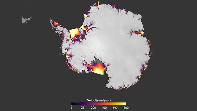 Revolutionary Nasa technique captures melting Antarctic ice like never before