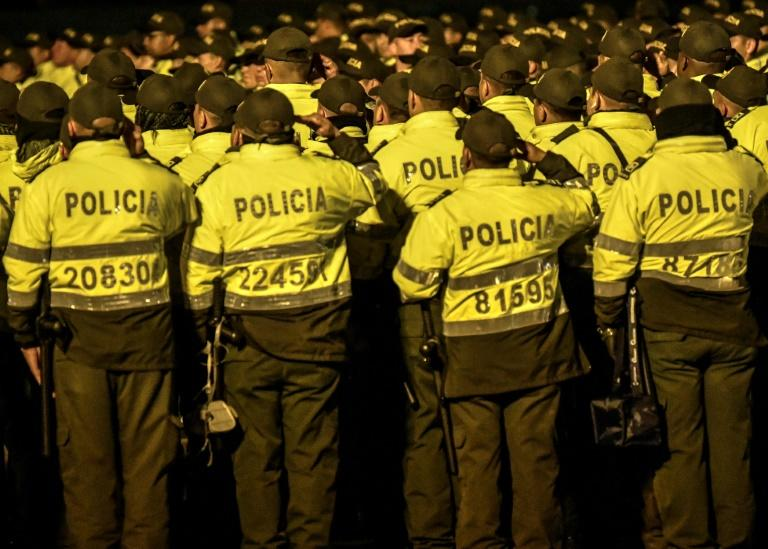 """Colombian President Ivan Duque said he was stepping up the police presence and ordering the """"deployment of joint patrols of police and army in the most critical places"""""""