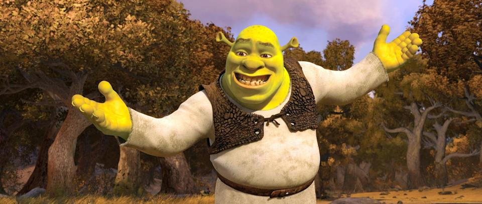 """<p>Did you know that your favorite fairy-tale-skewering ogre has his own Broadway musical? The stage adaptation of <strong>Shrek</strong>, starring <strong>Younger</strong>'s Sutton Foster as Princess Fiona, brings a quirky new twist to the fairytale parody.</p> <p><a href=""""http://www.netflix.com/title/70253398"""" class=""""link rapid-noclick-resp"""" rel=""""nofollow noopener"""" target=""""_blank"""" data-ylk=""""slk:Watch Shrek the Musical on Netflix"""">Watch <strong>Shrek the Musical</strong> on Netflix</a>.</p>"""
