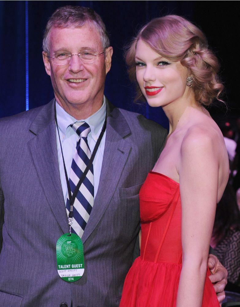 Scott and Taylor Swift | Rick Diamond/Getty