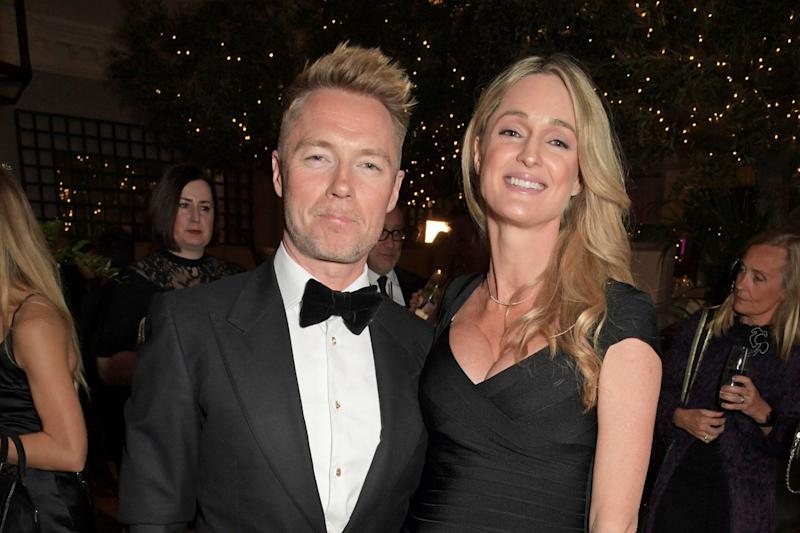 Ronan Keating and Storm (Dave Benett/Getty Images)