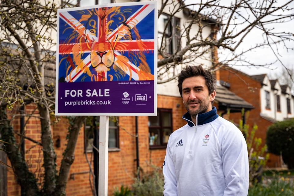 Dixon is working with Purplebricks to encourage the nation to get behind Team GB on their journey to Tokyo