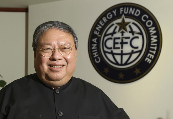 In this July 2015 photo, Patrick Ho, former Hong Kong home secretary, now deputy chairman of an nongovernmental organization funded by CEFC China Energy. (Photo:AP)