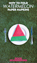 """<p>Juicy watermelon is synonymous with summer. But this silly slice will clean up messes instead of creating them. </p><p><em><a href=""""https://www.goodhousekeeping.com/food-recipes/party-ideas/videos/a38297/how-to-fold-a-watermelon-napkin/"""" rel=""""nofollow noopener"""" target=""""_blank"""" data-ylk=""""slk:Get the tutorial »"""" class=""""link rapid-noclick-resp"""">Get the tutorial »</a></em><br></p>"""