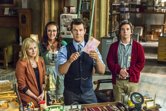 Hallmark Channel Picks Up 'Signed, Sealed & Delivered' Starring Eric Mabius To Series