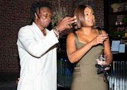 <p>Tiffany Haddish joins artist Nelson Makamo and DeLeón Tequila to celebrate the opening weekend of Makamo's first U.S. exhibition 'BLUE' in Los Angeles' art district. </p>