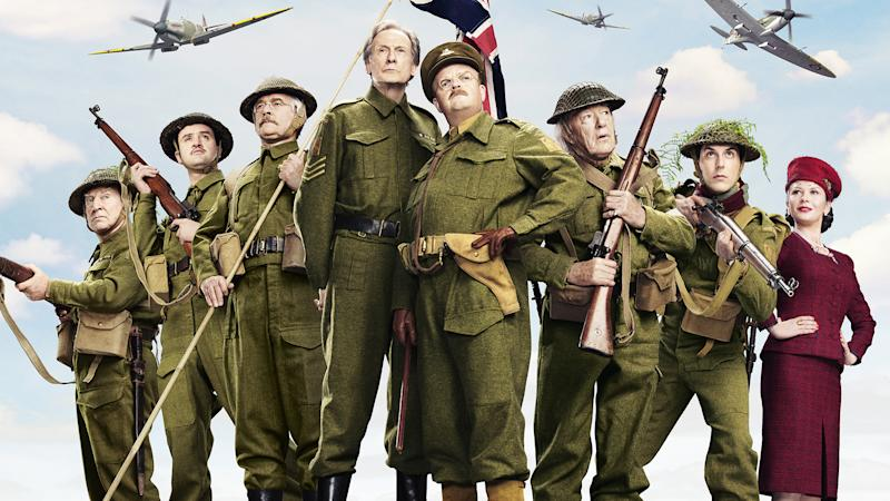 Classic sitcom 'Dad's Army' was remade for the big screen in 2016, starring Toby Jones and Bill Nighy. (Credit: Universal)