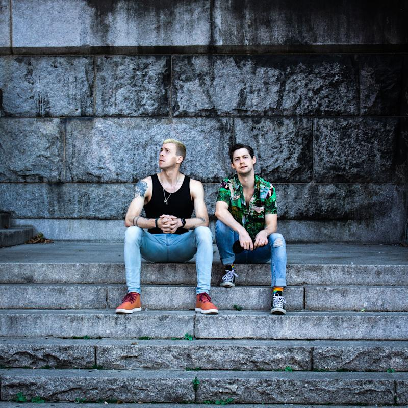 """Stereo Dawn's Will Van Dyke (left) and Chris Dwan released their debut album, """"Off the Ground,"""" in September. (Courtesy photo )"""