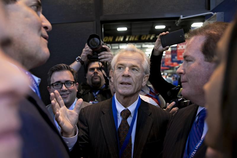White House trade adviser Peter Navarro's comments followed GM's stern warning.