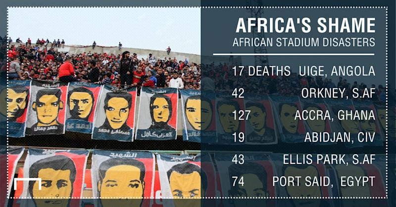 African stadium disasters PS