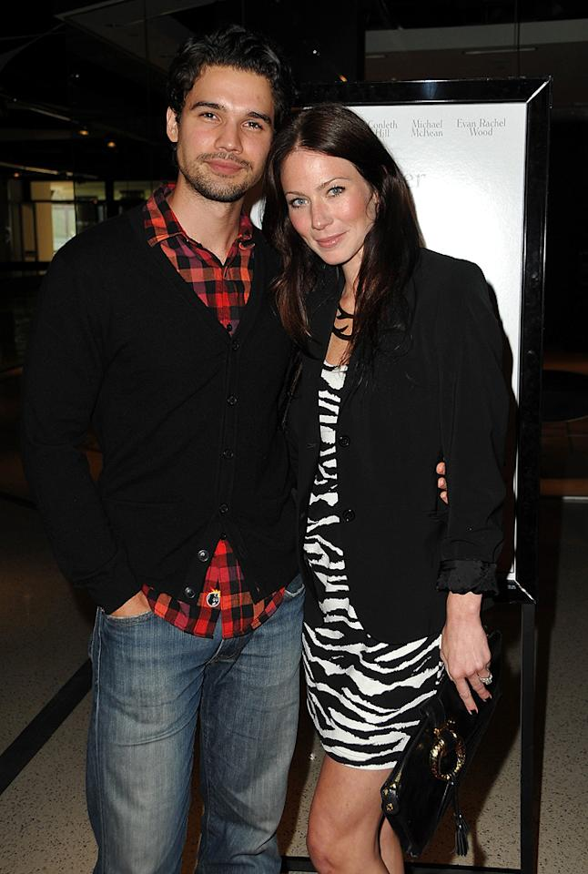 """<a href=""""http://movies.yahoo.com/movie/contributor/1808610272"""">Steven Strait</a> and <a href=""""http://movies.yahoo.com/movie/contributor/1807577712"""">Lynn Collins</a> at the Los Angeles premiere of <a href=""""http://movies.yahoo.com/movie/1810007788/info"""">Whatever Works</a> - 06/08/2009"""
