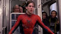 <p> Sam Raimi's second Spider-Man strikes a perfect balance between aerial acrobatics, action set pieces, Spidey's inner struggle to become a hero, and his romance with Mary Jane. There are a lot of pieces to juggle and yet every component works in tandem to create a near-perfect Spider-Man story. </p> <p> There's a great villain in Doctor Octavius, played by Alfred Molina, whose turn from mentor to antagonist makes for a heartbreaking story. Sure, some of the effects are dated, but Spider-Man 2 remains one of the best superhero movies to date. </p> <p> <strong>Best superhero moment:</strong> Peter and Dr. Ock come to blows in the trilogy's best fight sequence: on a speeding train. </p>