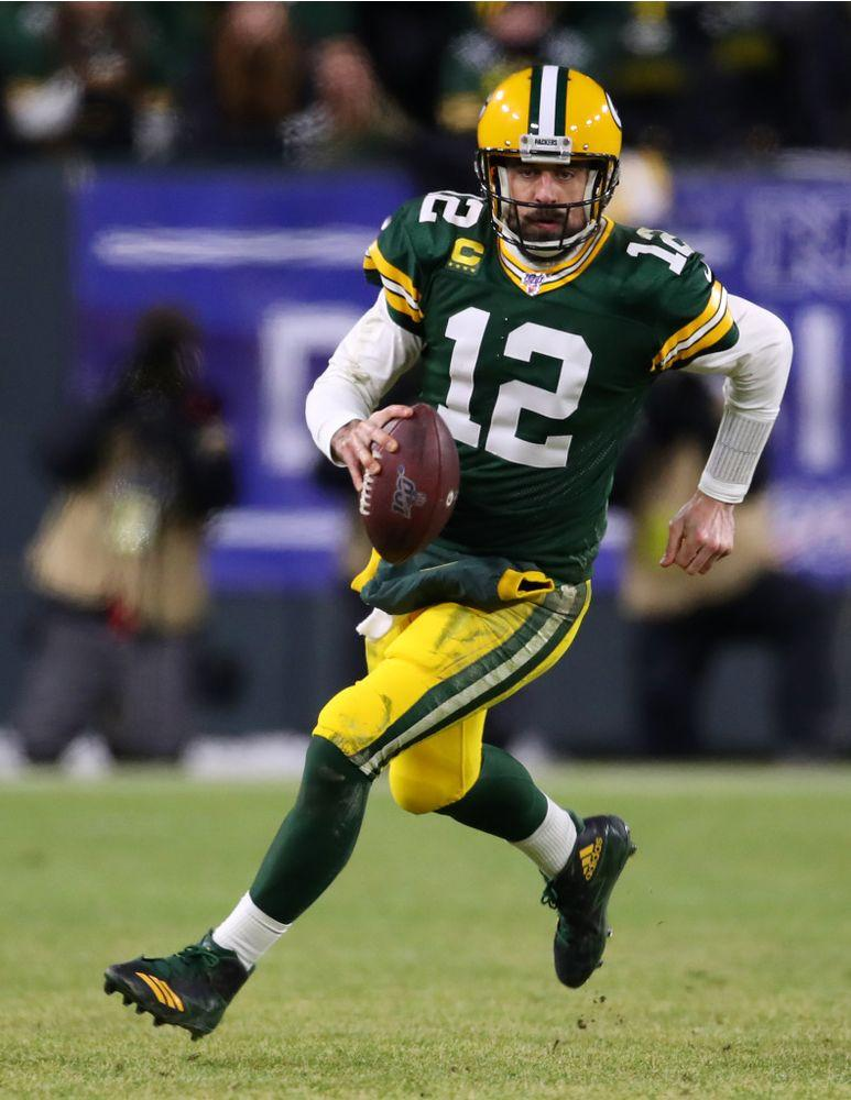 Aaron Rodgers | Gregory Shamus/Getty