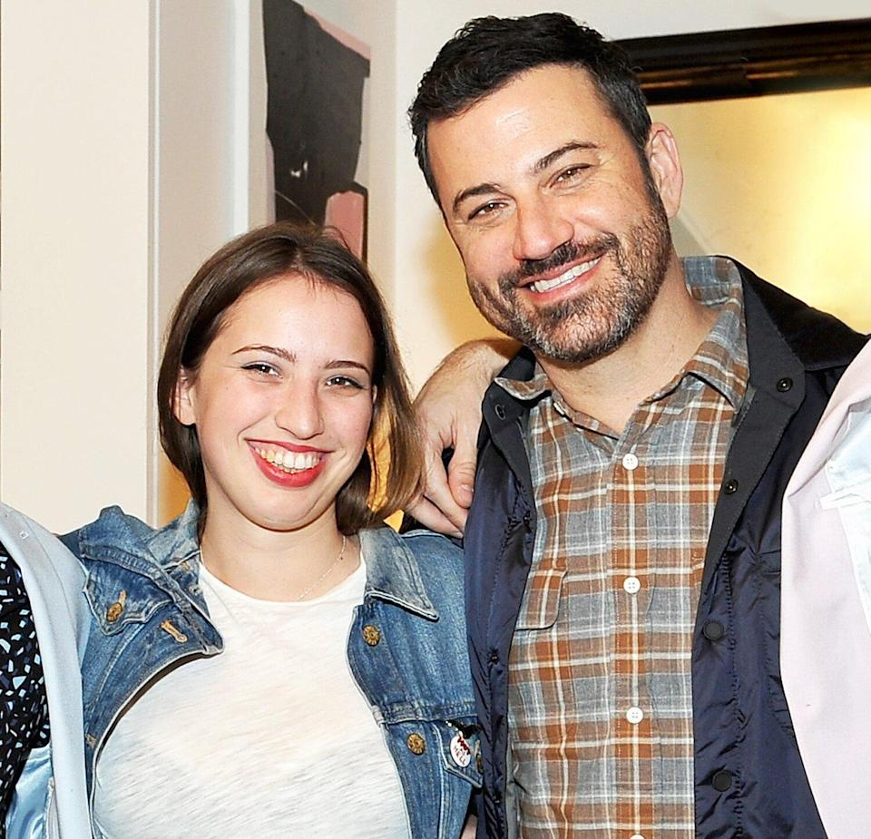 Jimmy Kimmel and daughter Katie Kimmel attend the opening of Consort on December 10, 2015 in Los Angeles, California.