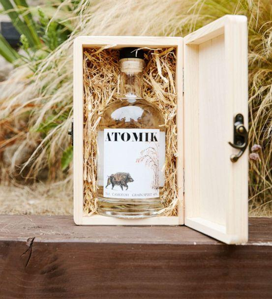 PHOTO: Atomik vodka is a radioactive free vodka produced from crops in Chernobyl's exclusion zone. (Atomik)