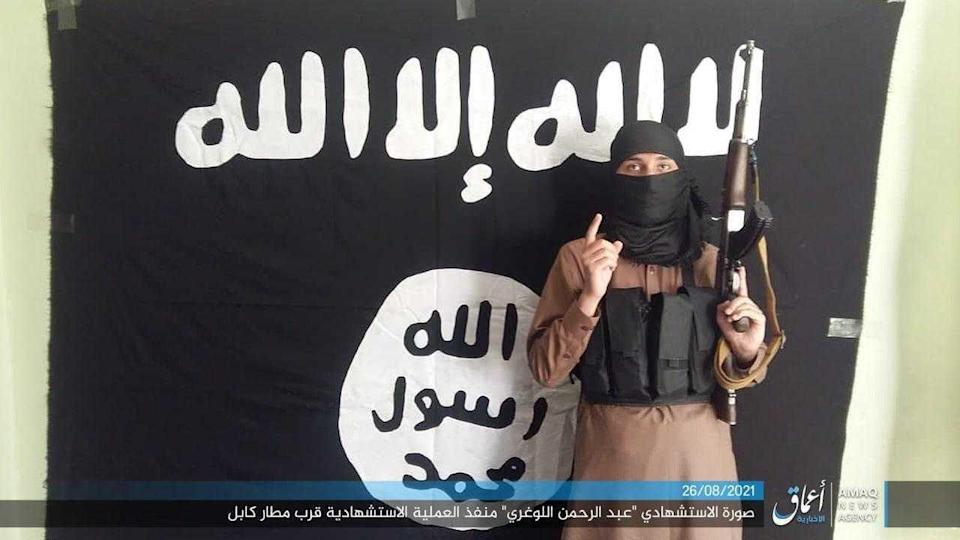 An image allegedly showing the Isis fighter who carried out a bombing at Kabul airport on Thursday (Grab)