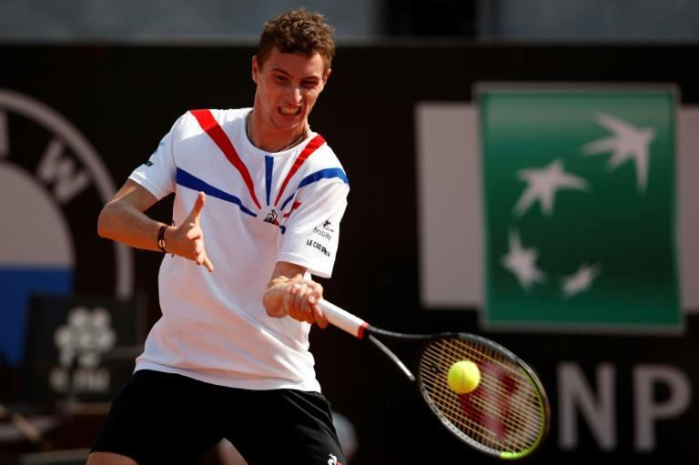 Match points saved for France's Ugo Humbert