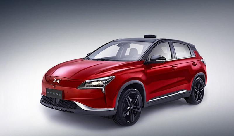 Chinese electric vehicle maker Xpeng unveils P7 four-door coupe at Auto Shanghai 2019, months after SUV roll out