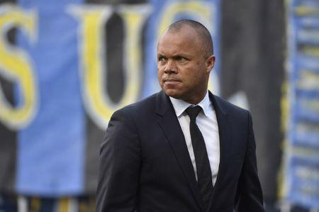 FILE PHOTO: Jun 23, 2018; Philadelphia, PA, USA; Philadelphia Union sporting director Earnie Stewart walks the field during halftime of a game between the Philadelphia Union and the Vancouver Whitecaps at Talen Energy Stadium. Mandatory Credit: Derik Hamilton-USA TODAY Sports