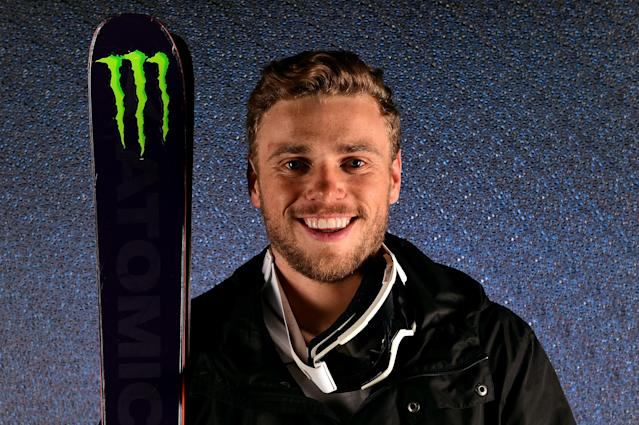 Gus Kenworthy for the Team USA Pyeongchang 2018 Winter Olympics portrait on April 25. (Photo: Getty Images)