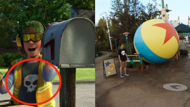 PHOTO: Pixar Easter eggs are hidden in Google Street View imagery of Toy Story Land at Disney's Hollywood studios. (Disney)