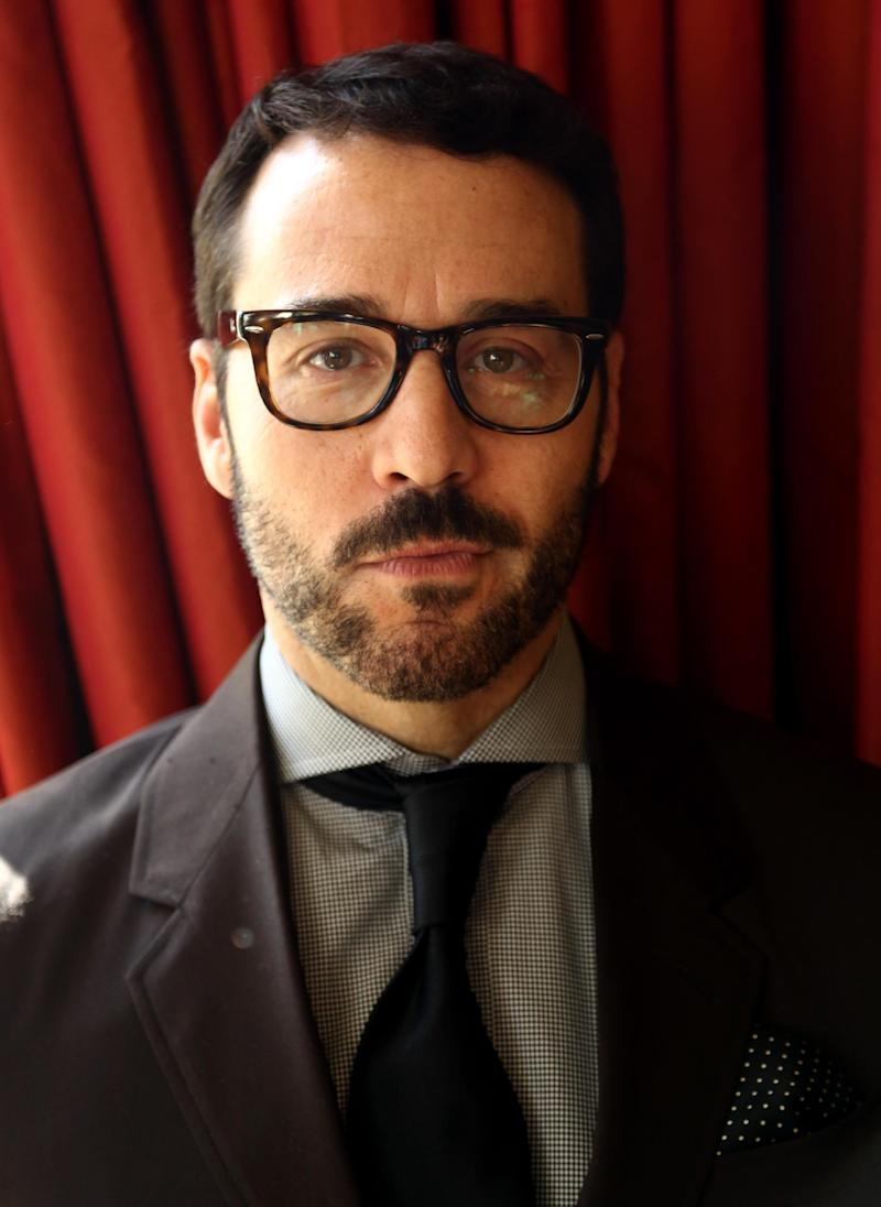 "In this Jan. 15, 2013 photo, actor Jeremy Piven, from the television series ""Mr. Selfridge,"" poses for a portrait during the PBS Winter TCA Tour at the Langham Huntington Hotel in Pasadena, Calif. ""Mr. Selfridge,"" starring Piven as the real-life American entrepreneur whose mission was to transform and conquer British retailing, is airing not on the frisky, few-holds-barred HBO home of ""Entourage,"" but on restrained PBS. (Photo by Matt Sayles/Invision/AP)"