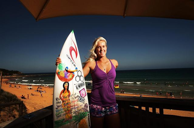 Bethany Hamilton. (Photo: Getty Images)
