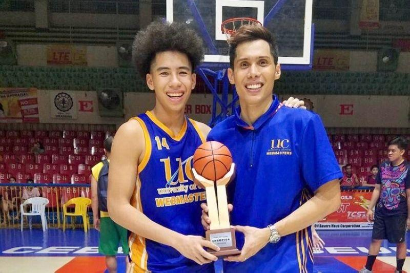 Dondon Hontiveros relishes pushing son to become best that he can be