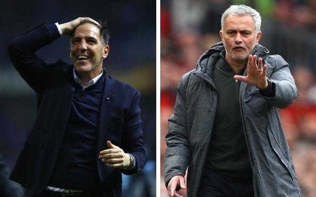 Celta's Eduardo Berizzo hosts Jose Mourinho and Manchester United for Thursday night's Europa League semi-final first leg - Getty Images